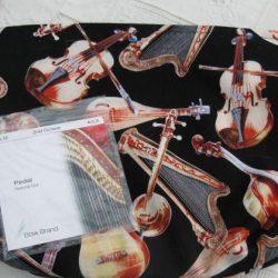 String Bag and Tuning Key Purse -Set