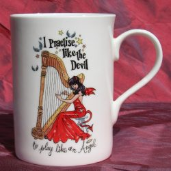"""I Practise Like the Devil"" China Mug"