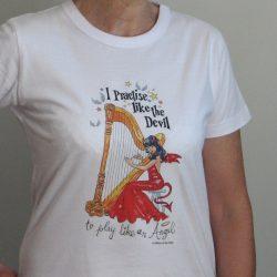 Practise Like The Devil T-shirt