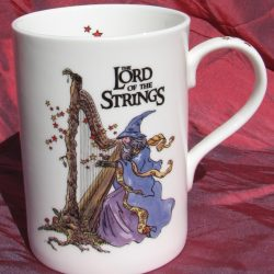 """Lord of the Strings"" China Mug"