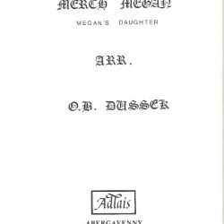 Merch Megan- Dussek