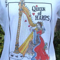 """""""Queen of Harps"""" Tee Shirt"""