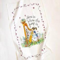 Harp Tea Towels