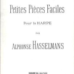 Trois Petites Pieces Faciles pour La Harpe par Alphonse Hasselmans