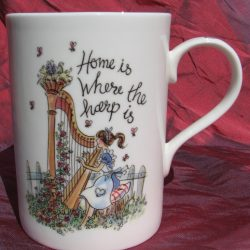 """Home is Where the Harp Is"" - China Mug"
